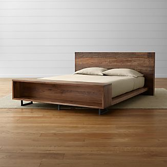 Atwood Bed with Bookcase