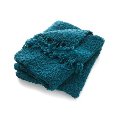 Aubree Teal Throw