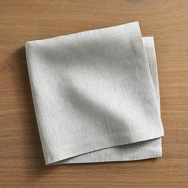 Having cloth napkins rather than paper napkins reduces the waste produced while also creating something that does the same thing as the store bought paper napkins. In addition, creating personal cloth napkins saves money because the need to buy paper napkins is no longer there.
