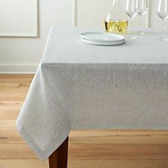 "Aurora Linen Tablecloth 60""x120"""