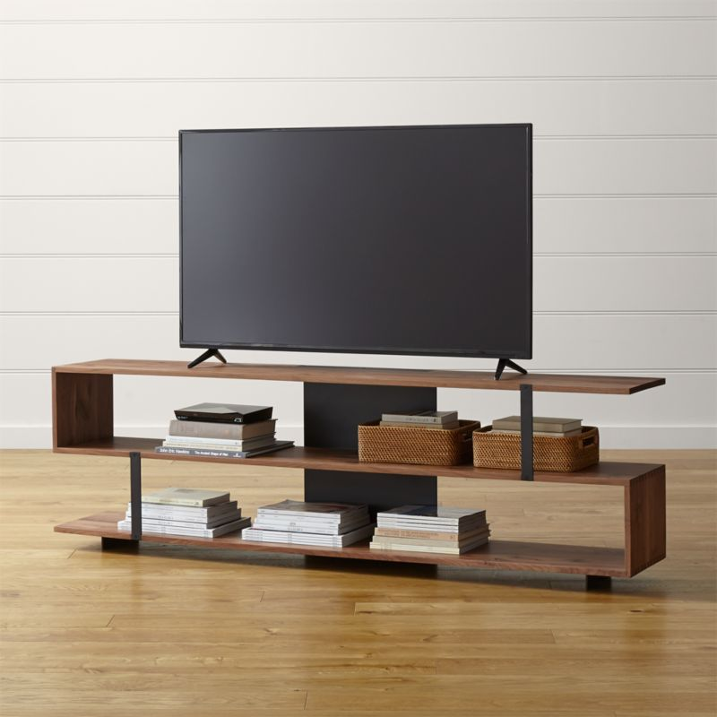 Austin 78 media console crate and barrel - Meuble tv industriel ikea ...