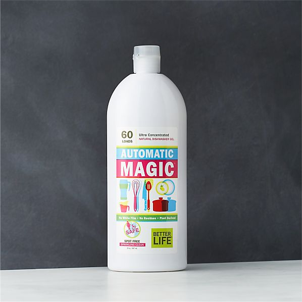 Better Life ™ Automatic Magic ™ Ultra-Concentrated Natural Dishwasher Gel