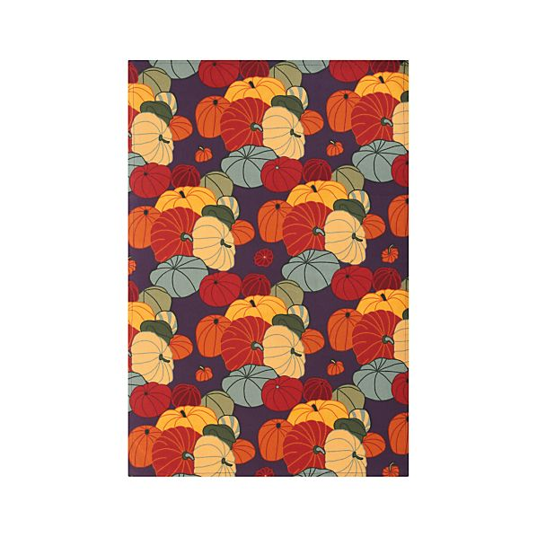 Autumn Squash Dishtowel