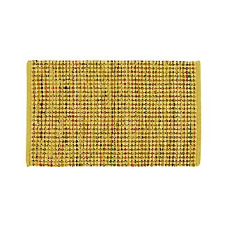 Avalon Yellow Cotton Rag Rug