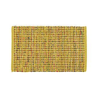 Avalon Yellow Cotton Rag Rug