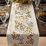 "Aveline 90"" Silver and Gold Table Runner"