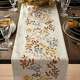 Aveline Silver and Gold Table Runners