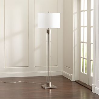 Avenue Nickel Floor Lamp