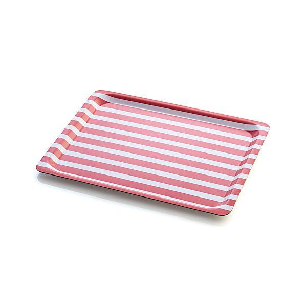 Awning Stripe Tray