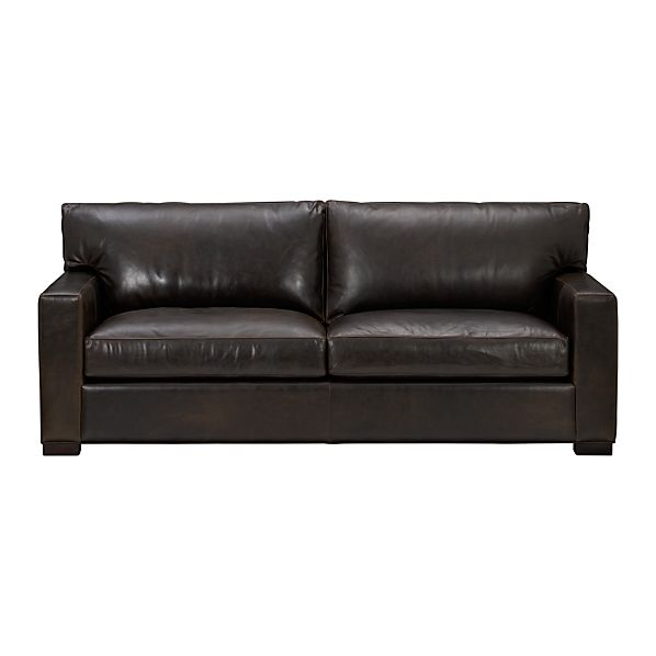 Axis Leather 2-Seat Sofa