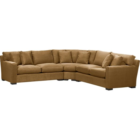 Axis 3-Piece Wedge Sectional