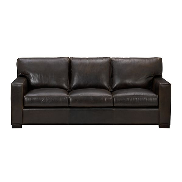 Axis Leather 3-Seat Sofa