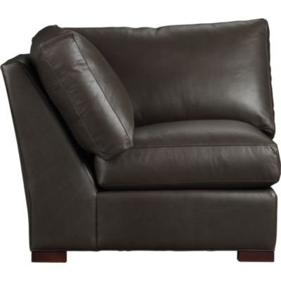 Axis Leather Sectional Corner