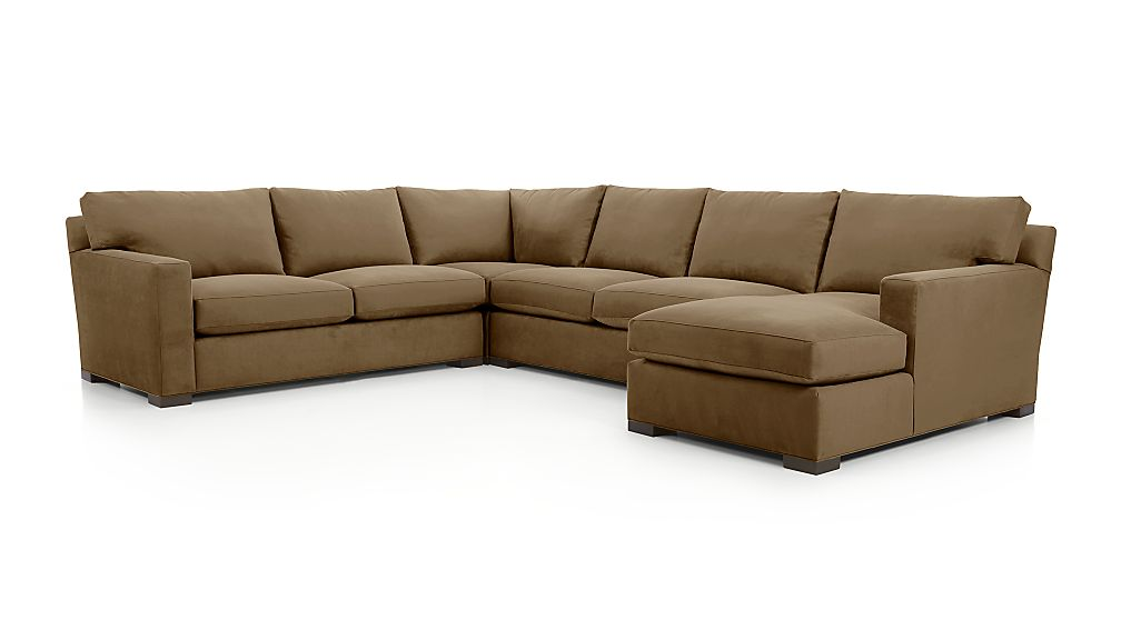 Axis Ii 4 Piece Sectional Sofa Douglas Lace Crate And