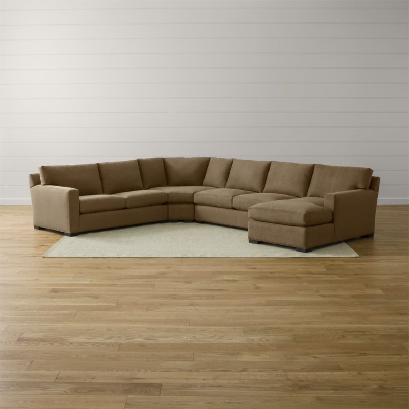 Axis Ii 4 Piece Sectional Sofa Douglas Coffee Crate And