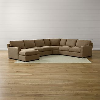 Axis Sectional Pieces And Sleepers Crate And Barrel