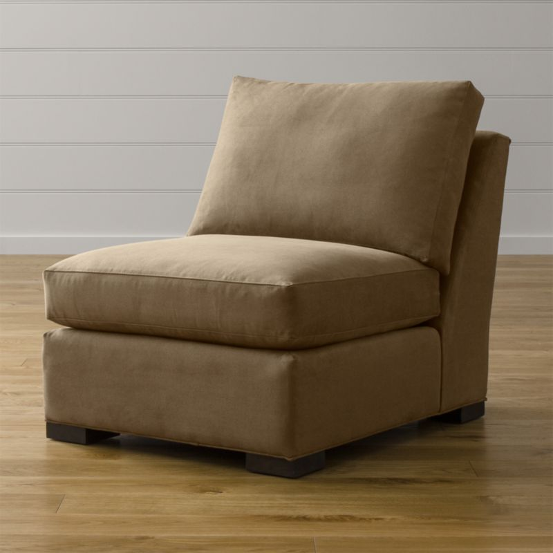 Axis ii armless chair douglas coffee crate and barrel for Crate and barrel armless chair