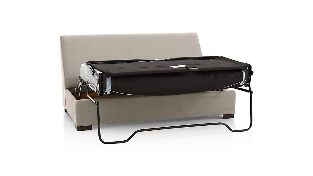 Axis Ii Armless Full Sleeper Sofa Douglas Nickel Crate
