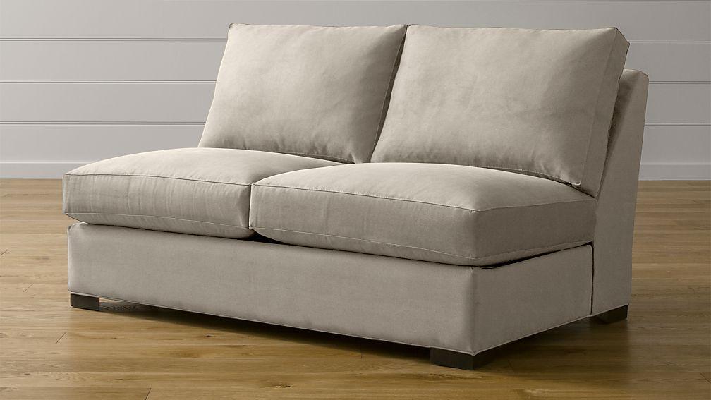 Axis Ii Armless Full Sleeper Sofa Douglas Coffee Crate