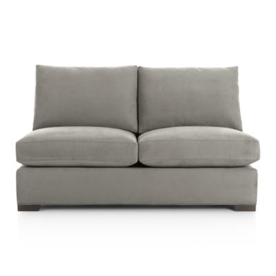 Axis II Armless Sectional Full Sleeper Sofa