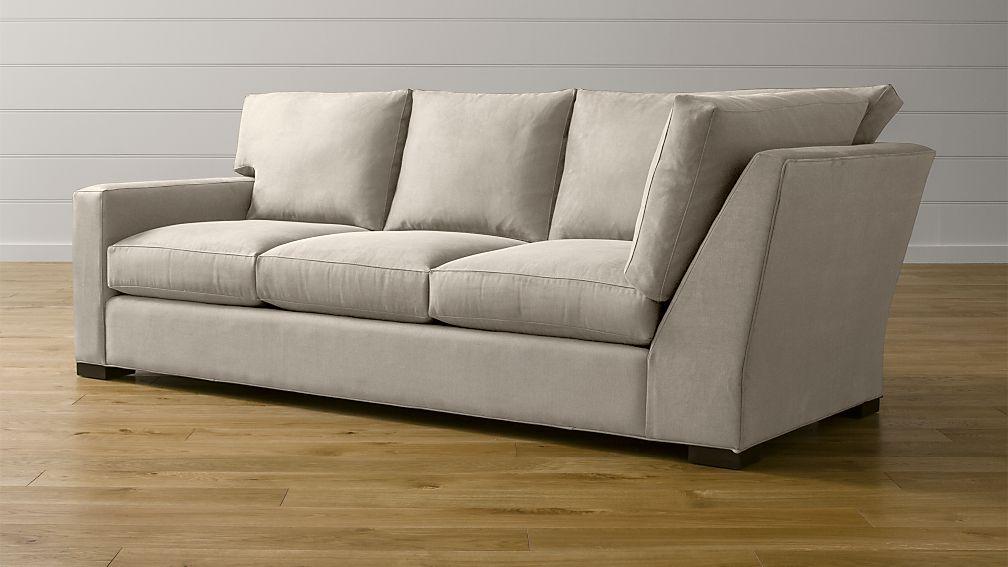 Axis II Left Arm Corner Sofa