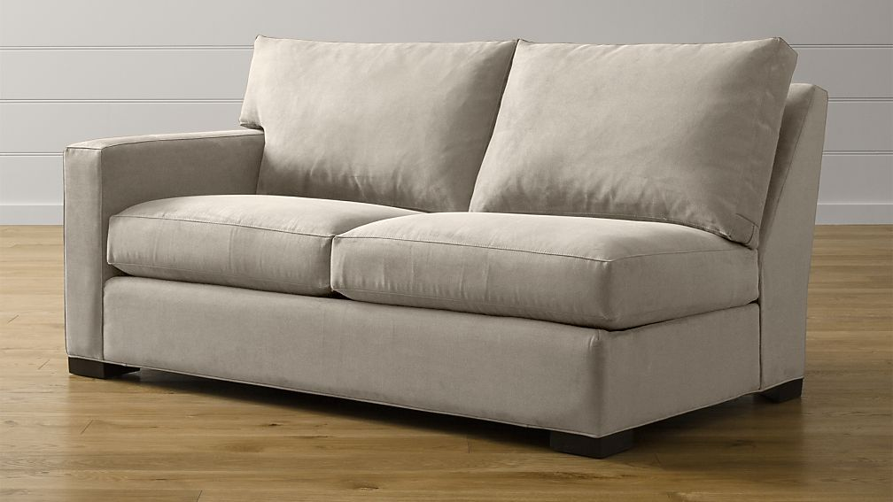 Axis II Left Arm Full Sleeper Sofa with Air Mattress