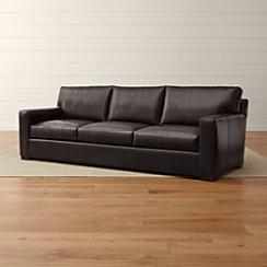 Axis II Leather 3-Seat Grande Sofa