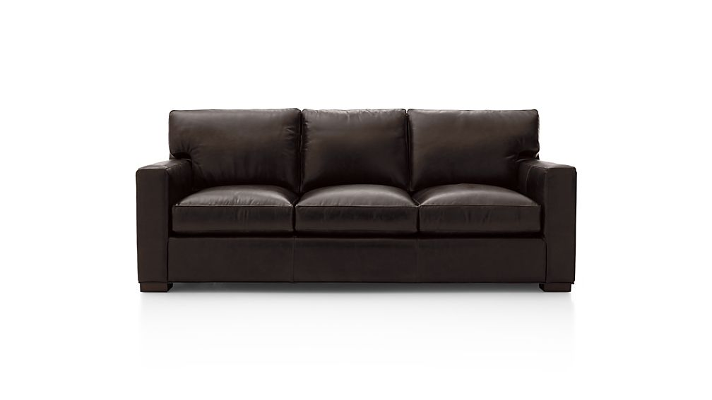 Axis II Leather Queen Sleeper Sofa with Air Mattress