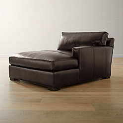 Axis Ii Leather Right Arm Corner Sofa Reviews Crate