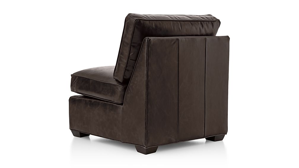 Axis II Leather Armless Chair