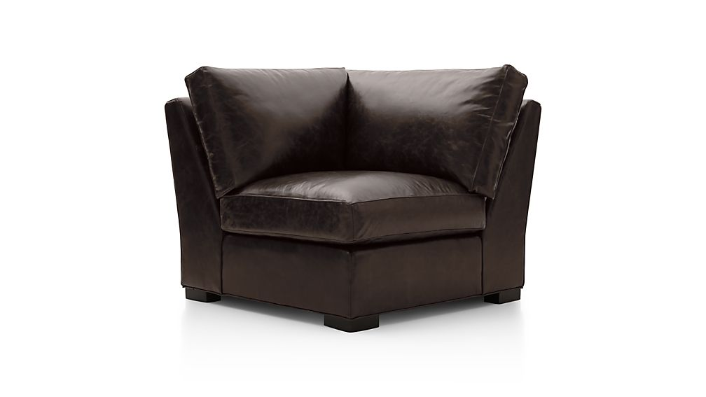 Axis II Leather Corner Chair