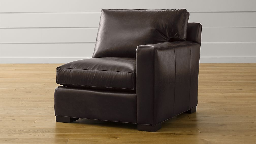 Axis II Leather Right Arm Sectional Chair