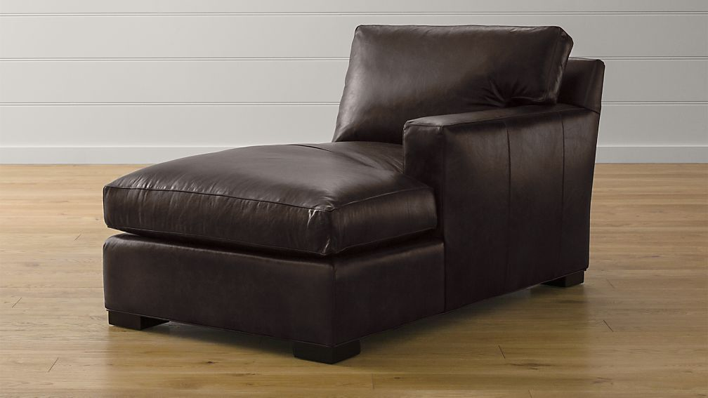 Axis II Leather Right Arm Chaise