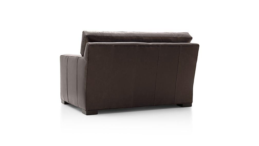 Axis II Leather Twin Sleeper Sofa
