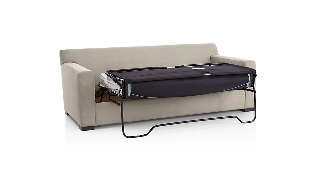 Axis ii 2 seat queen sofa bed crate and barrel for Crate and barrel dog bed