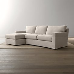 Axis II Slipcovered 2-Piece Sectional Sofa