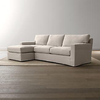 Axis II Slipcovered 2-Piece Sectional Sofa