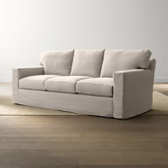 Axis II Slipcovered 3-Seat Queen Sleeper Sofa
