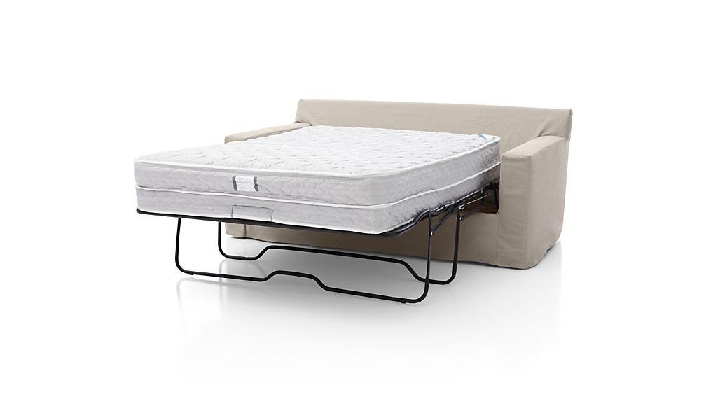 Axis II Slipcovered Full Sleeper Sofa with Air Mattress