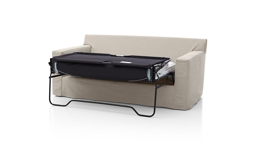 Axis II Slipcovered Full Sleeper Sofa with Air Mattress