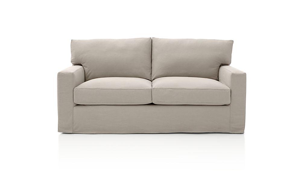 Axis II Slipcovered Full Sleeper Sofa