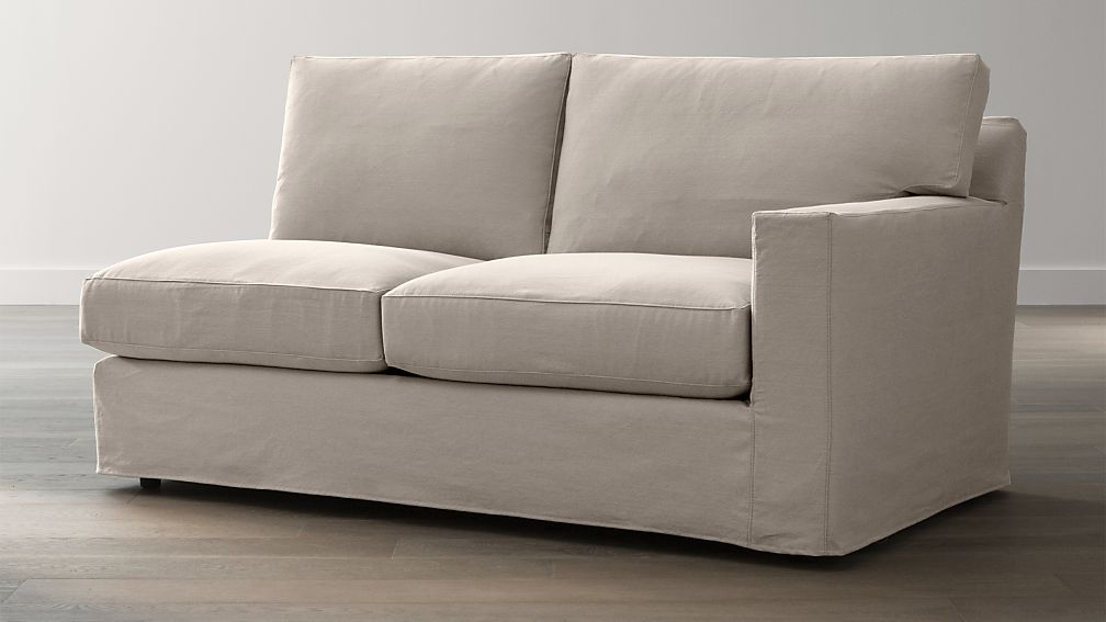 Slipcover Only for Axis II Right Arm Sectional Full Sleeper Sofa
