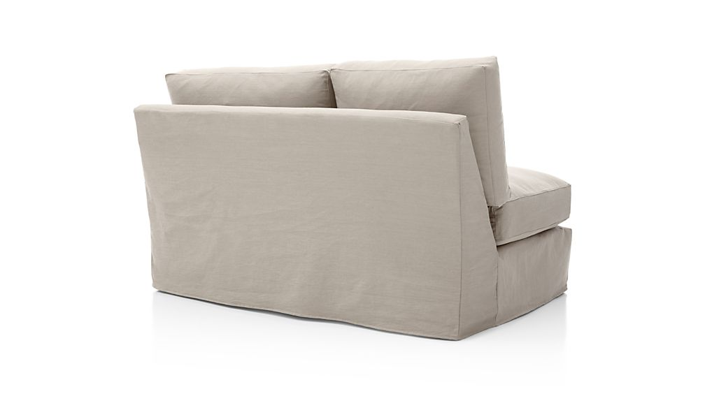 Axis II Slipcovered Right Arm Loveseat