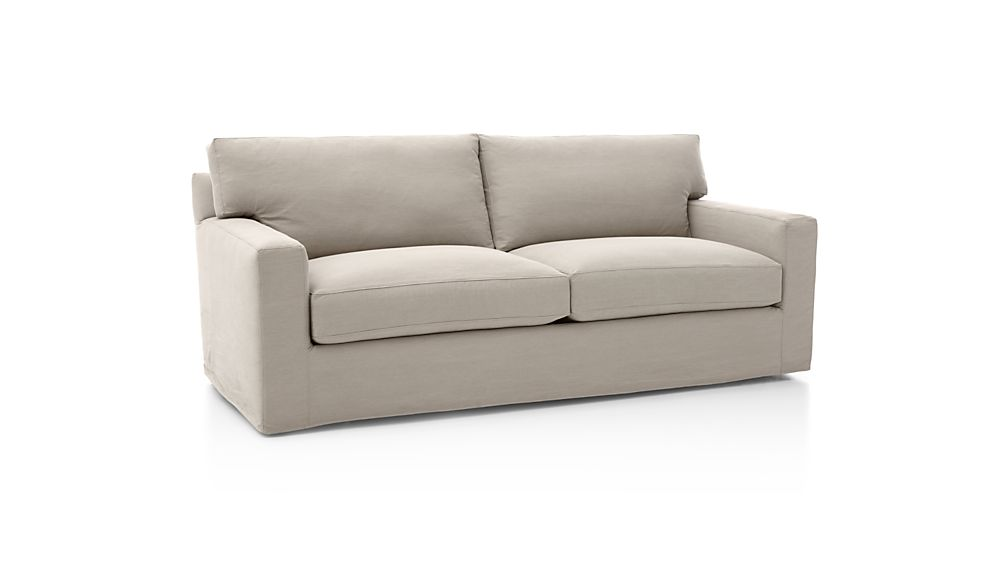 Slipcover Only for Axis II Armless Sectional Loveseat