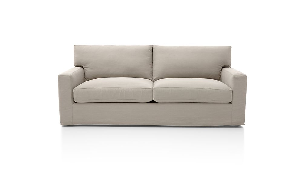 Axis II Slipcovered 2-Seat Queen Sleeper Sofa