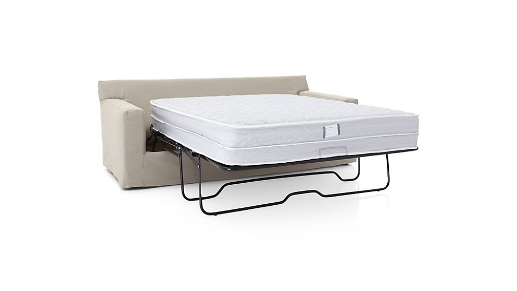 Axis II Slipcovered 3-Seat Queen Sleeper Sofa with Air Mattress