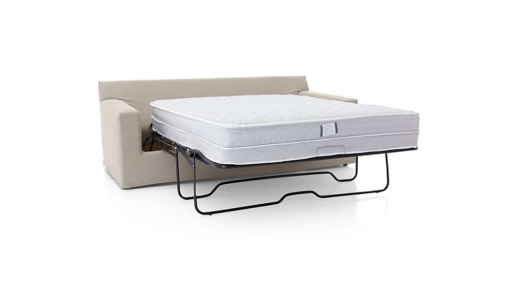 Axis II Slipcovered 2-Seat Queen Sleeper Sofa with Air Mattress
