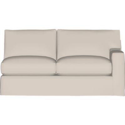 Axis II Slipcovered Right Arm Full Sleeper Sofa