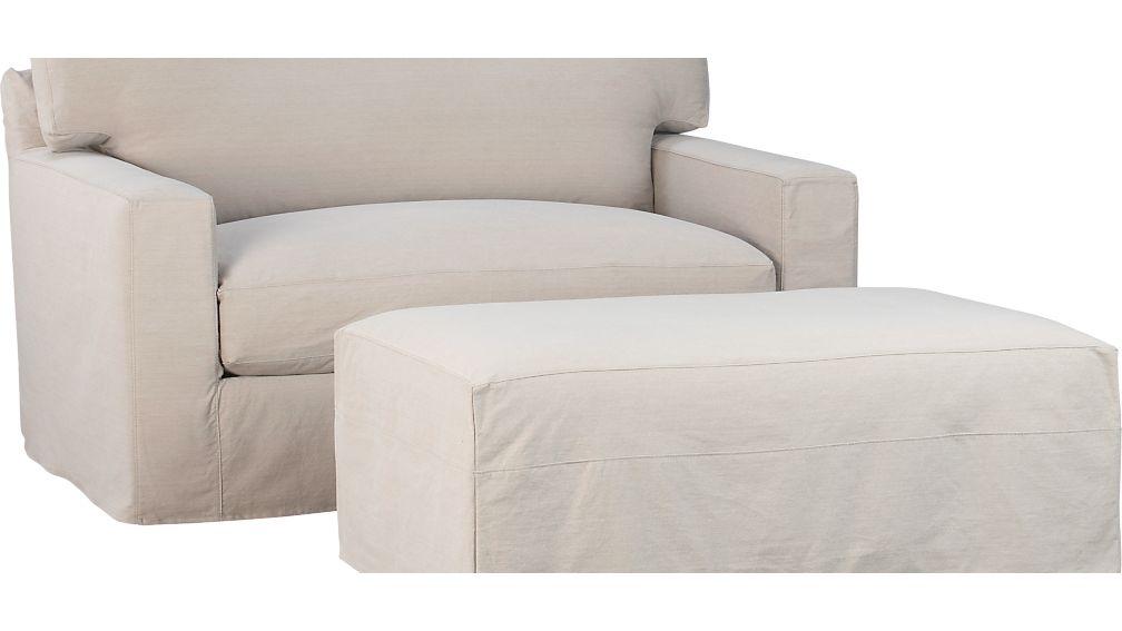 Axis II Slipcovered Twin Sleeper Sofa