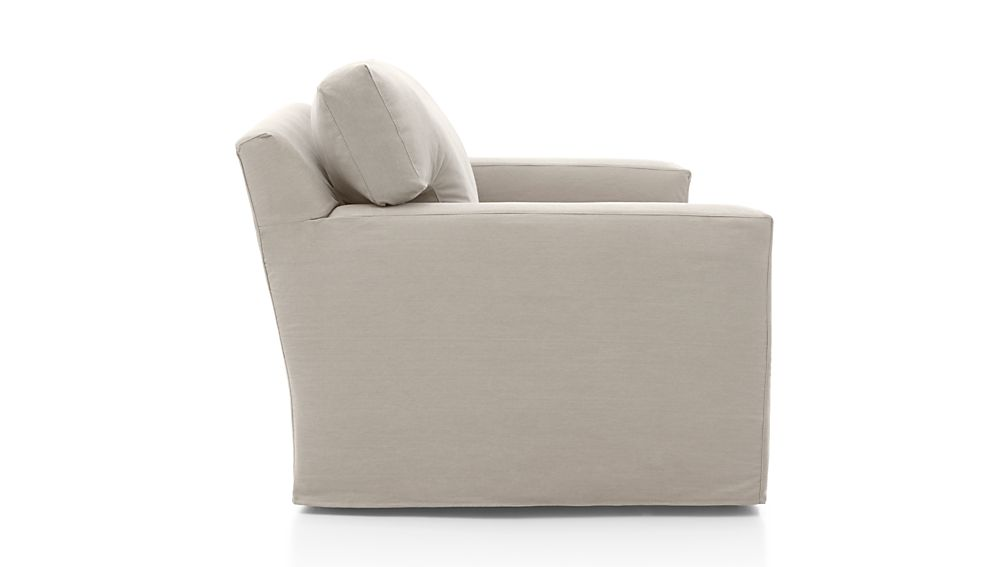 Axis II Slipcovered Chair and a Half